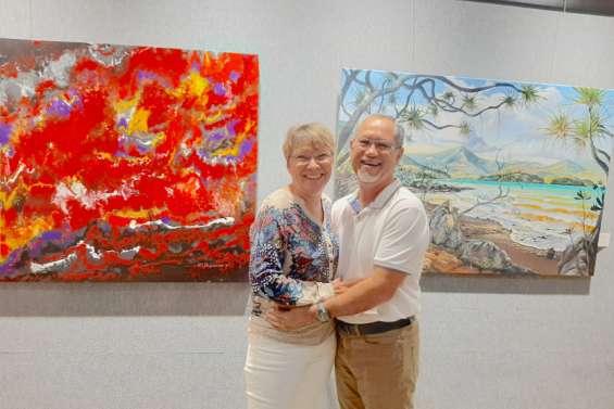 Anne-Marie d'Anglebermes et Patrick Duffieux exposent