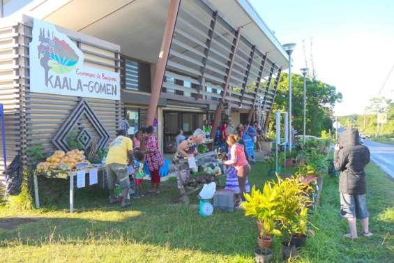Le marché communal reprend des couleurs