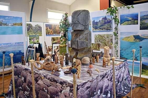 Une expo pour promouvoir le fenua en Europe