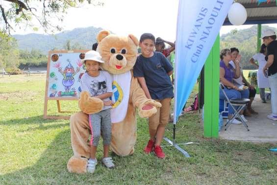 Les petits se sont régalés au pique-nique Teddy Bear des Kiwanis