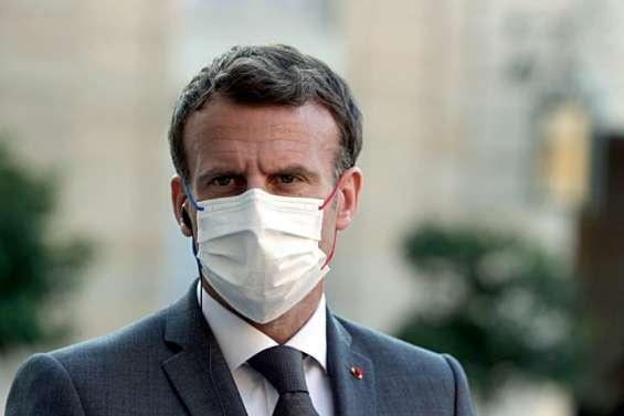 Gifle: Macron dénonce des faits