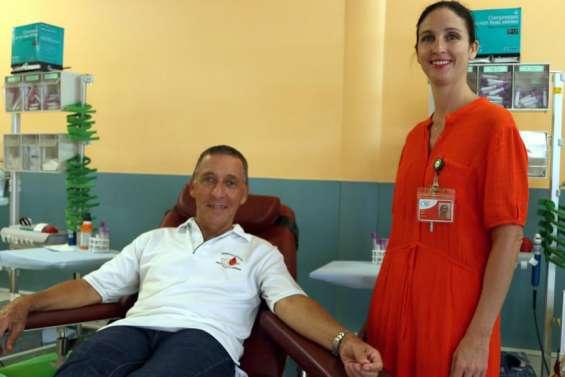 Une journée mondiale pour promouvoir le don de sang lundi