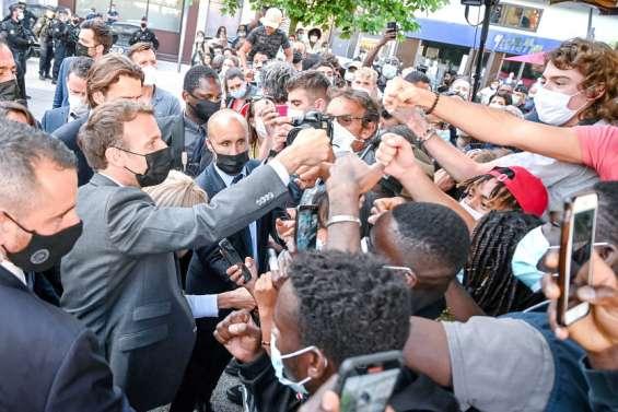 Une gifle qui n'empêchera pas Emmanuel Macron de poursuivre son tour de France