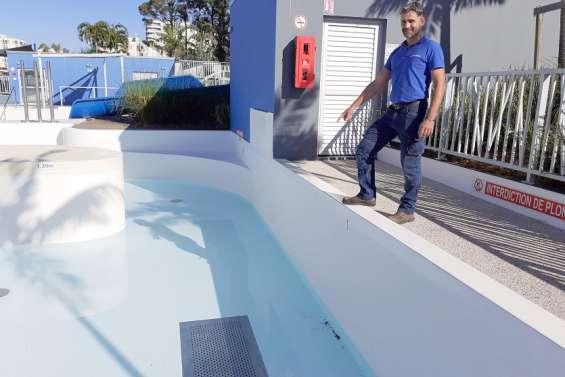 Les bassins duCentre aquatique de Nouméa nettoyés en profondeur