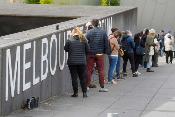 Melbourne sort de confinement vendredi