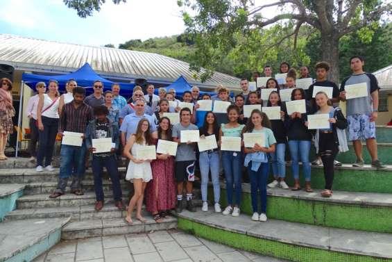 Diplômes et prix remis au collège Djiet