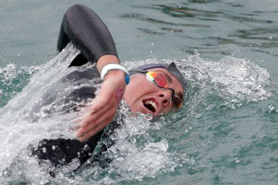 Eau libre : Lara Grangeon au pied du podium national