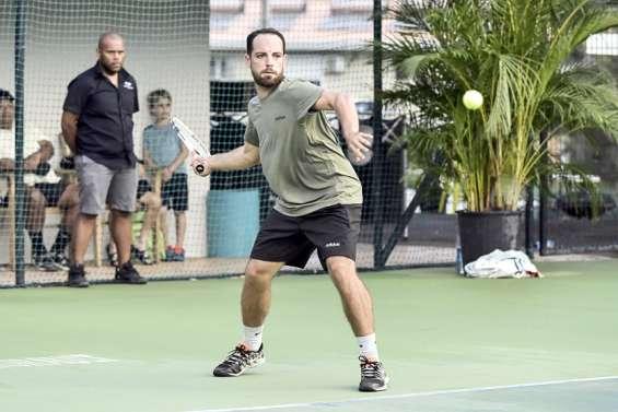 Titouan Gueneau, le tennis dans la peau