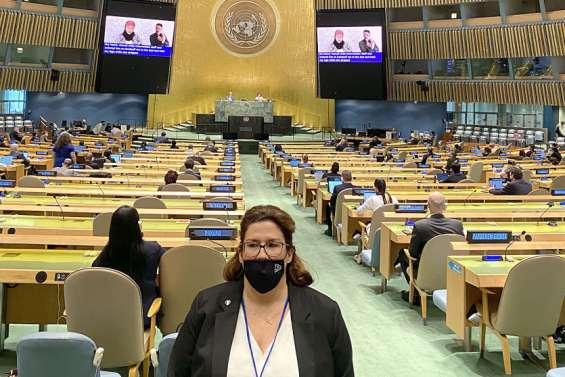 Le grand oral de Sonia Backès à l'Organisation des Nations Unies