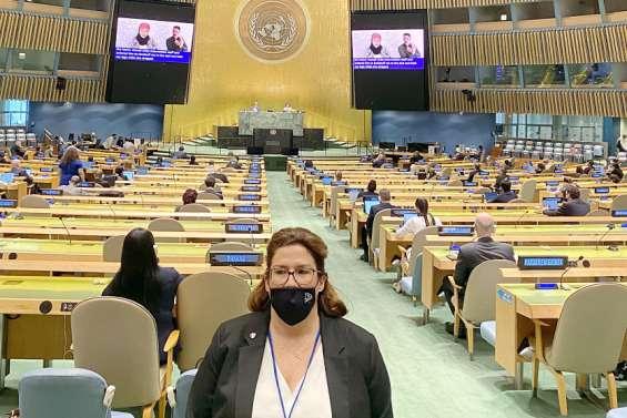 À l'ONU, Sonia Backès voit une incidence d'une victoire du Non à l'indépendance