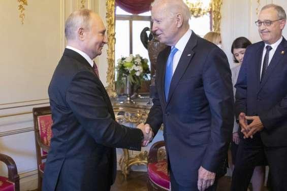 Biden et Poutinejouent l'apaisement
