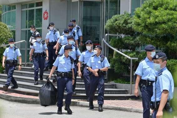 À Hong Kong, la répression contre la presse s'intensifie