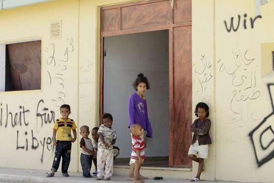L'ancien QG de Kadhafi, squatté par des familles