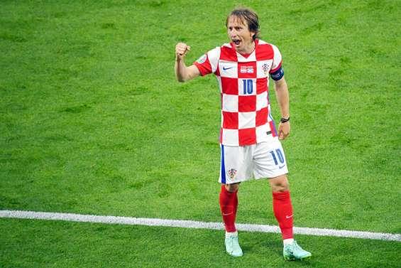 Avec Modric, la Croatie poursuit sa route