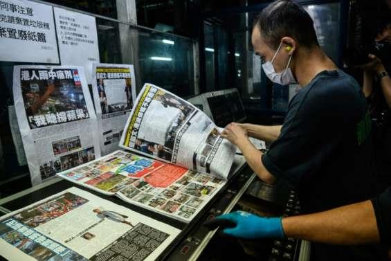 Hong Kong: Apple Daily, le journal critique de Pékin, va cesser de paraître