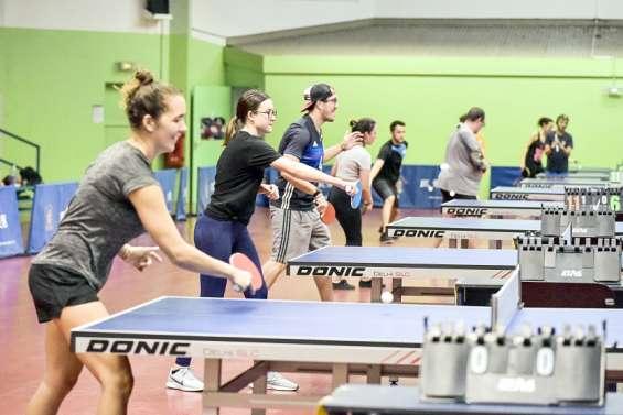 Tennis de table : plus de 30 pongistes pour la Coupe