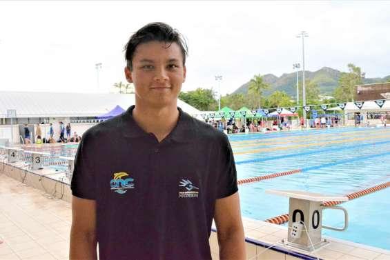 Nathan Hudan en forme aux championnats de Calédonie en grand bassin