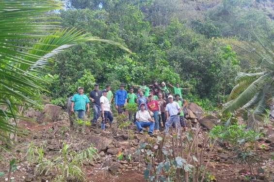 Les élèves contribuent au nettoyage du cimetière javanais de Goro