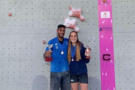 Bassa Mawem et Victoire Andrier remontent sur un podium