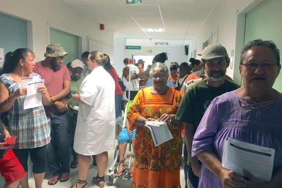 Grosse affluence au vaccinodrome de Koné