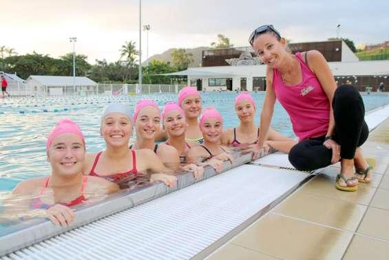 Le gala annuel, le grand bain pour les nageuses de natation synchronisée