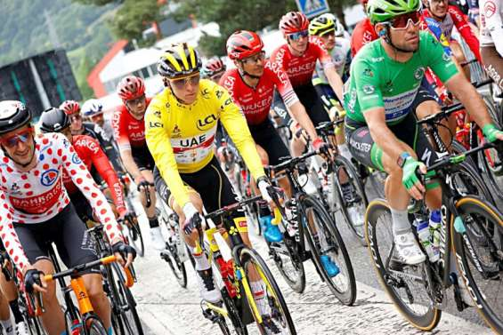 Le Tour de France repart sans Roglic et van der Poel