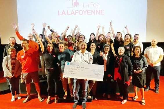 Un chèque de 500000francs pour la Ligue contre le cancer