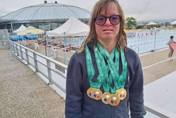 Delphine André repart avec 6 médailles d'or