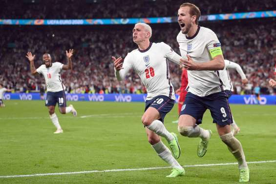Football : l'Angleterre rejoint l'Italie en finale de l'Euro