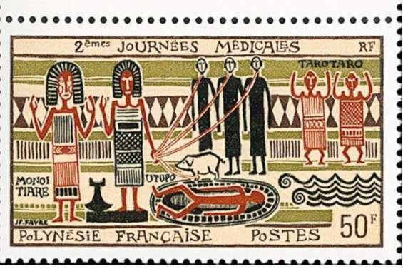 360000francs pour un timbre du fenua