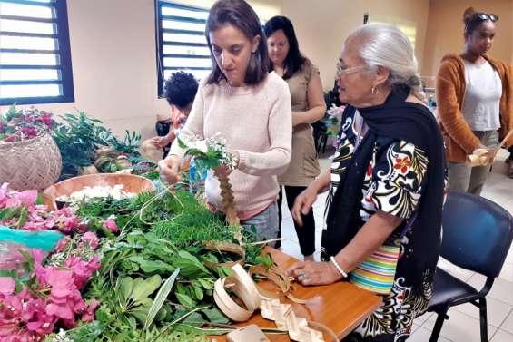 L'art floral tresse les liens entre les générations