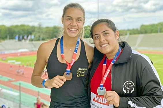 Athlétisme : Loan Ville et Lesly Filituulaga sur le podium national