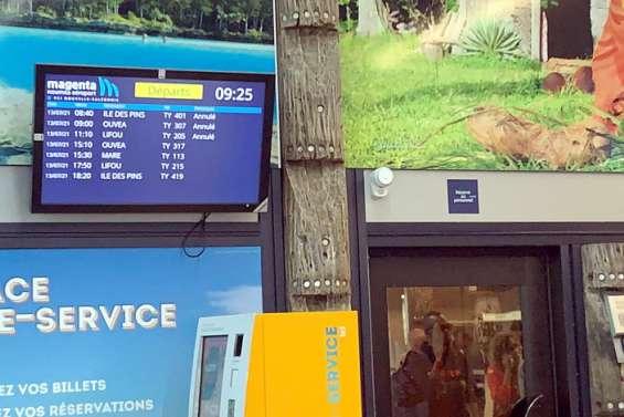 [MàJ] Grève à Air Calédonie: le programme des vols de l'après-midi modifié