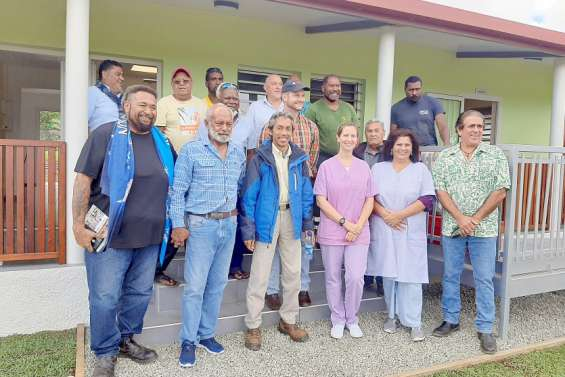 La Mutuelle du Nickel a ouvert un cabinet de soins à La Foa
