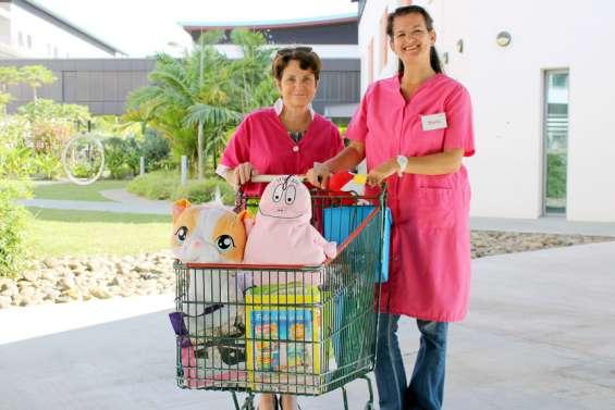 Un premier gala pour aiderles patients hospitalisés à voir la vie en rose