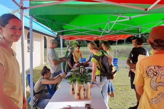 Les agriculteurs certifiés Bio Pasifika réunis à la tribu de Ouatom