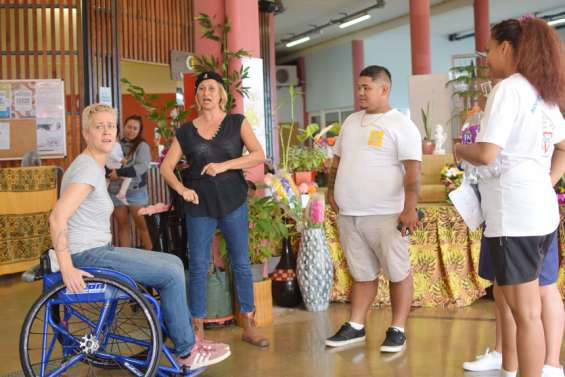 Quelques minutesde théâtre pour réfléchirsur le handicap
