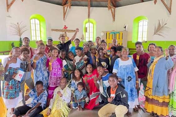 Une messe animée par des élèves, dimanche, à Xépénéhé