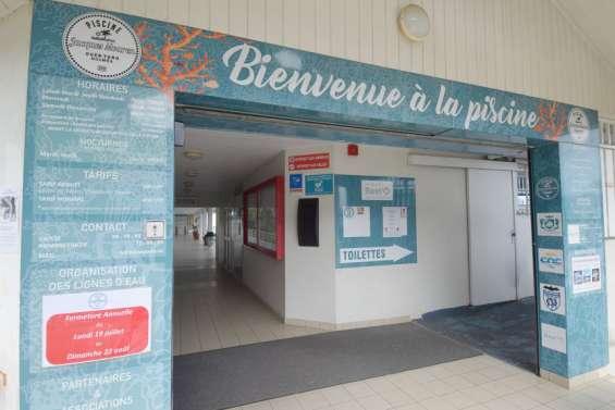 Le centre aquatique de Magenta rouvre, celui du Ouen Toro fermé jusqu'au 22août
