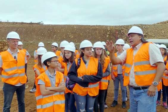 Dans le Sud, des élèves à la découvertede l'activité minière