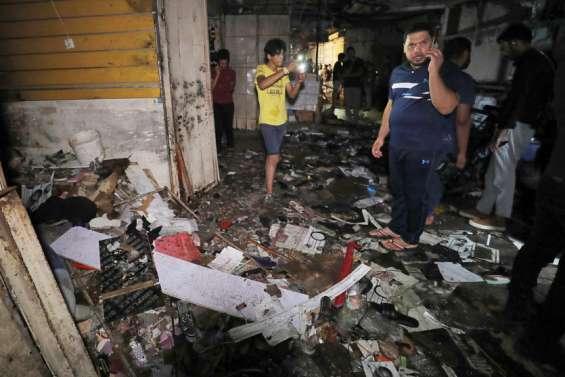 Attentat sanglant sur un marché de Bagdad
