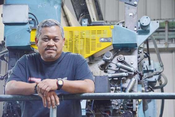 La rotative, une grosse machine entre mécanique de précision etsystème D