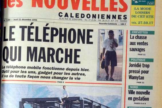 1995 : Mobilis, internet... et essais nucléaires