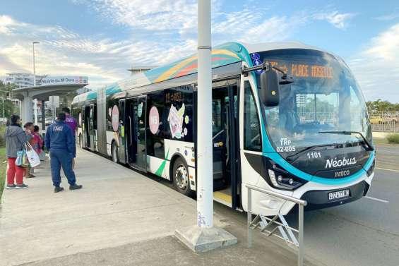 Un premier bilanencourageant pour la nouvelle ligneNéobus