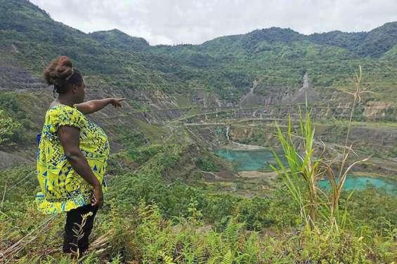 Rio Tinto va évaluer les ravages de son ancienne mine de Panguna