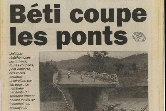1996: la mine, le corbeau et la claquette