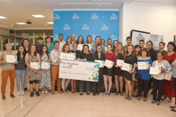 Des étudiants récompensés pour l'excellence de leur parcours