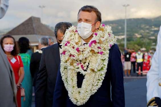 Emmanuel Macron est arrivé à Papeete
