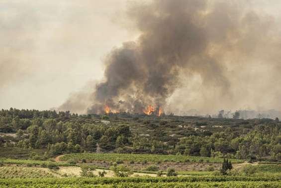 L'incendie dans l'Aude toujours pas fixé