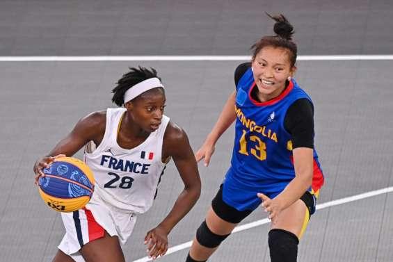 La France bat péniblement la Mongolie